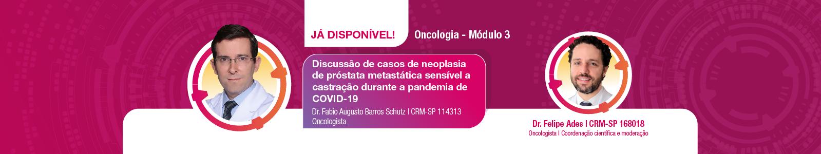 Módulo 3 Oncologia disponível