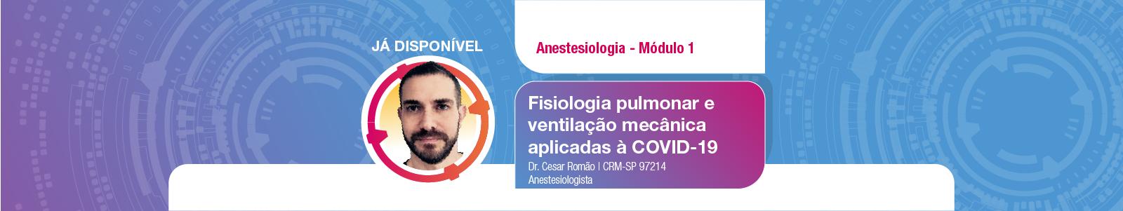 Módulo 1 Anestesiologia disponível
