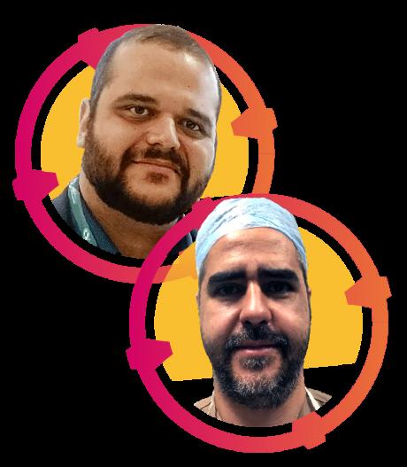 palestrantes-moldura-Marcos e Dumitriu