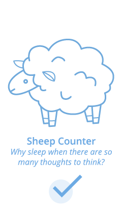 Sheep counter