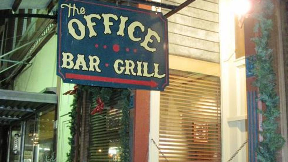 The office bar