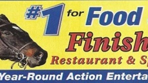 Finish line restaurant logo