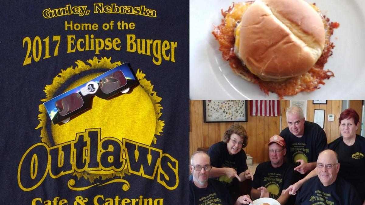 Eclipse burger gurley nebraska   outlaws cafe