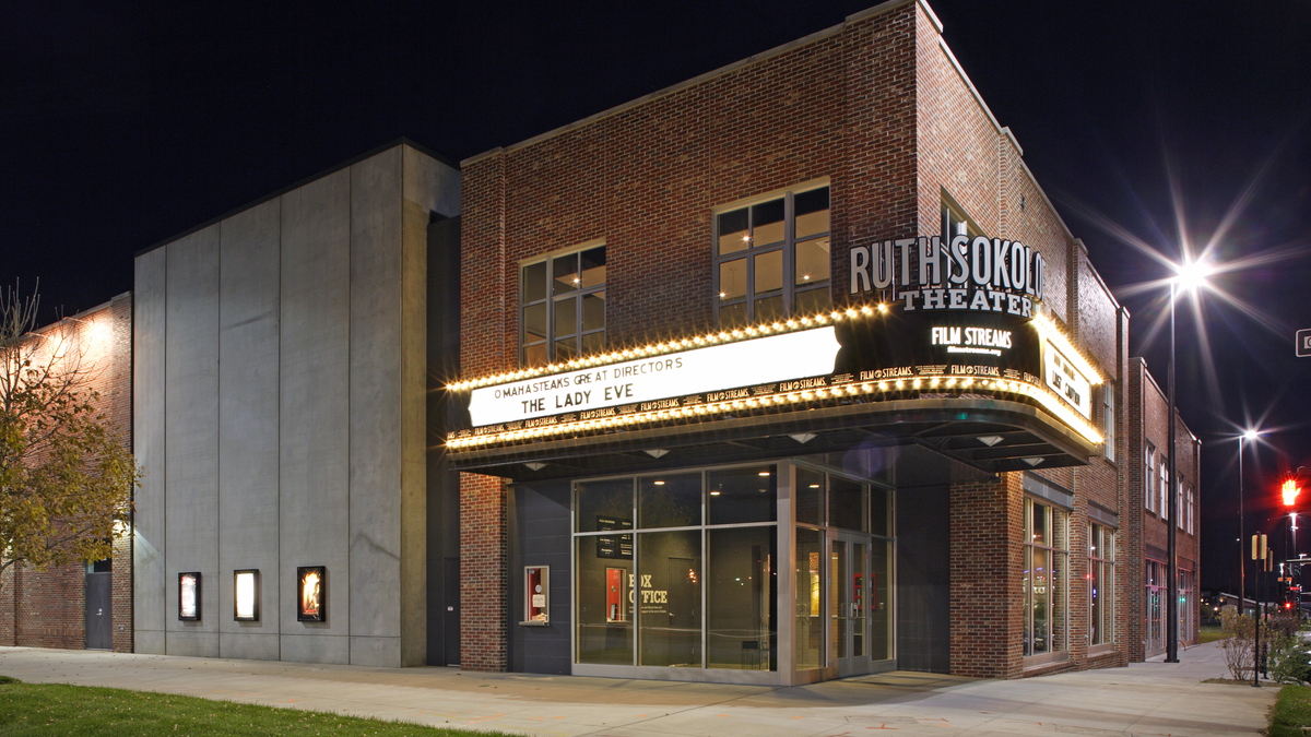Film streams at the ruth sokolof theater
