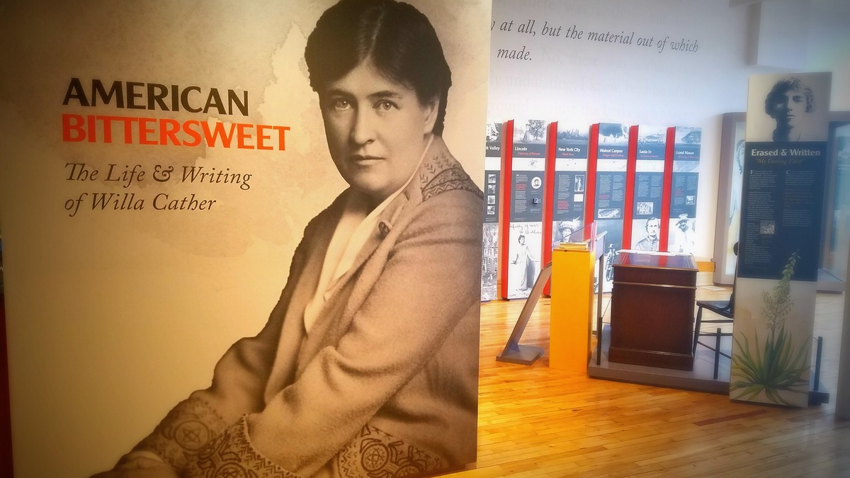 National Willa Cather Center - Willa cather us map