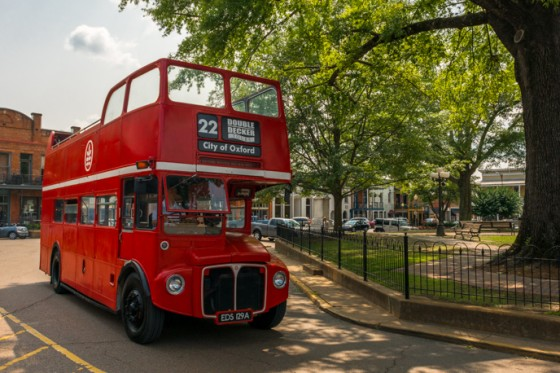 Historic Double Decker Bus Tours - Oxford MS