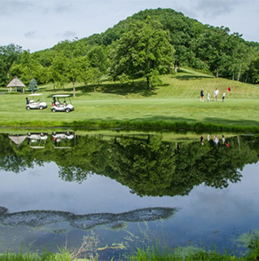 winona, minnesota, cedar, valley, golf, course