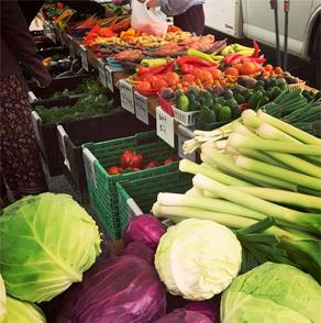 winona, minnestoa, farmers, market, summer, vegetables, fruit, flowers, plants, baked, goods, food