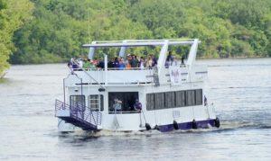 winona minnesota, state, university, cal, fremling, tour, boat, floating, classroom, interpretive, center