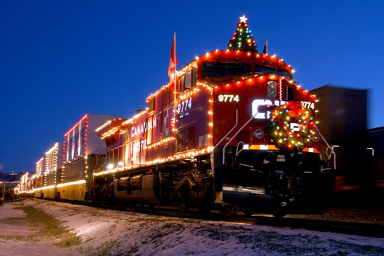 Merchants HolidayTrain