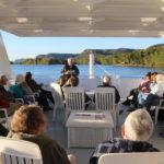 Cal Fremling boat cruise