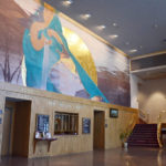 page, theater, smu, saint, mary's, university, lobby