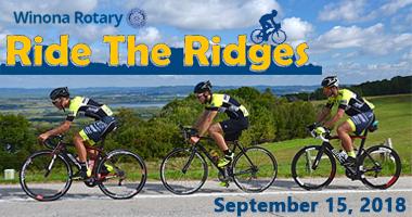 ride, ridges, winona, minnesota, september, rotary