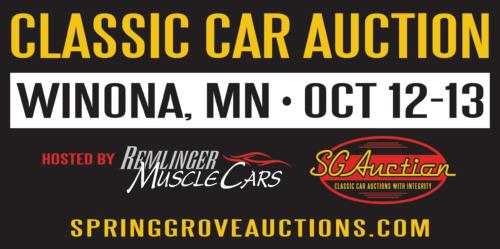 Classic Car Auction Visit Winona