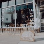 storefront, music, business