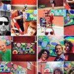 full blooms mural, sarah johnson, winona mn, southeastern minnesota
