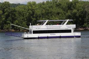 Tour Boat Mississippi River Winona Southeast Minnesota Winona State University