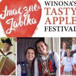 Polish Festival Flyer Tasty Apple Festival Winona Minnesota Southeast MN Mississippi River City