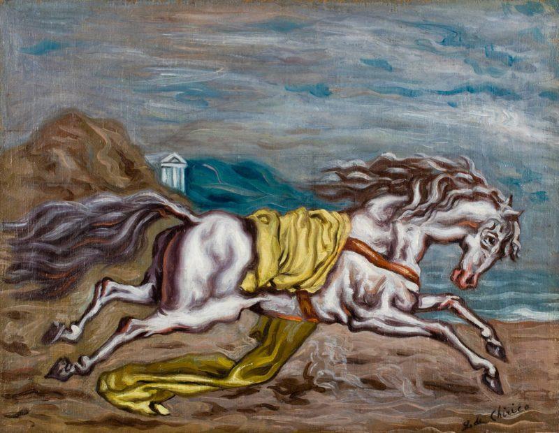 Giorgio de Chirico Painting Minnesota Marine Art Museum Winona Minnesota
