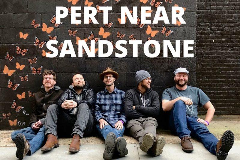 Pert Near Sandstone Bluegrass Blue Ox Festival Ed's No Name Bar Downtown Winona MN Concert Southeast Minnesota