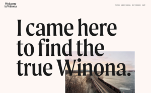Winona Ryder Welcome to Winona Website Winona MN Southeastern Minnesota