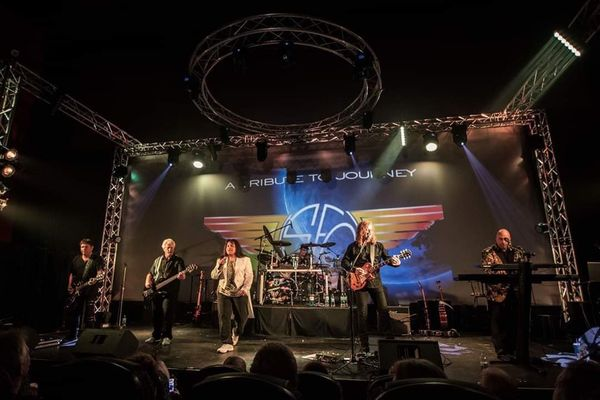SFO Tribute Band Journey Kansas 70's Rock n Roll Winona Minnesota Hurry Back Productions Highway 61 Concert Series St. Cecilia Theater