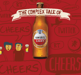 Your Complex Twitter Tale by Amstel