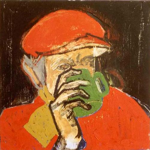 Alzheimer's Self-Portrait Mug