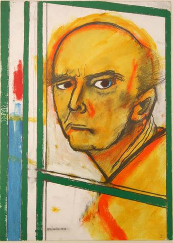 Alzheimer's Self-Portrait Easel