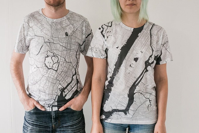 Citee Map T-Shirts 1