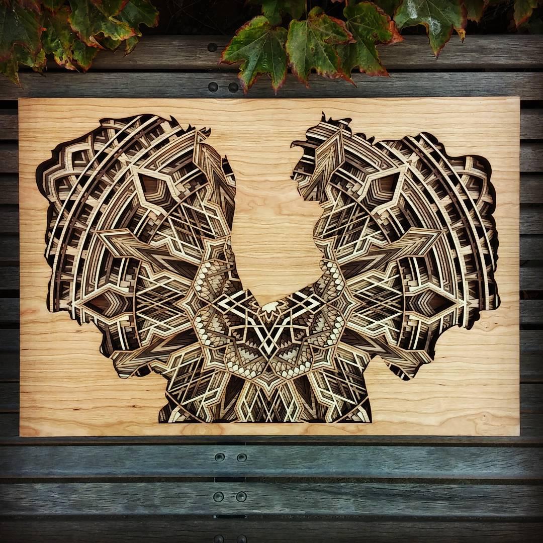 Gabriel Schama laser cut artworks 13