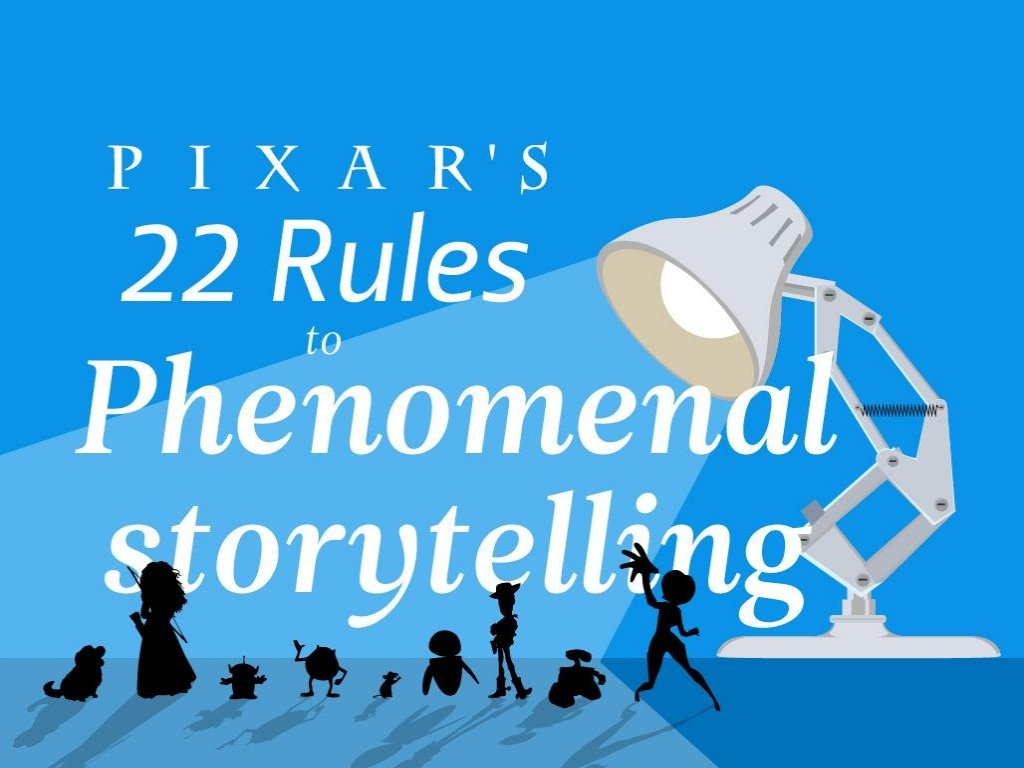 Pixar Storytelling Rules featured