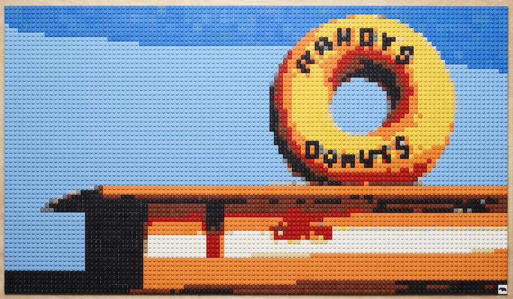 Andy Bauch Lego Art 1