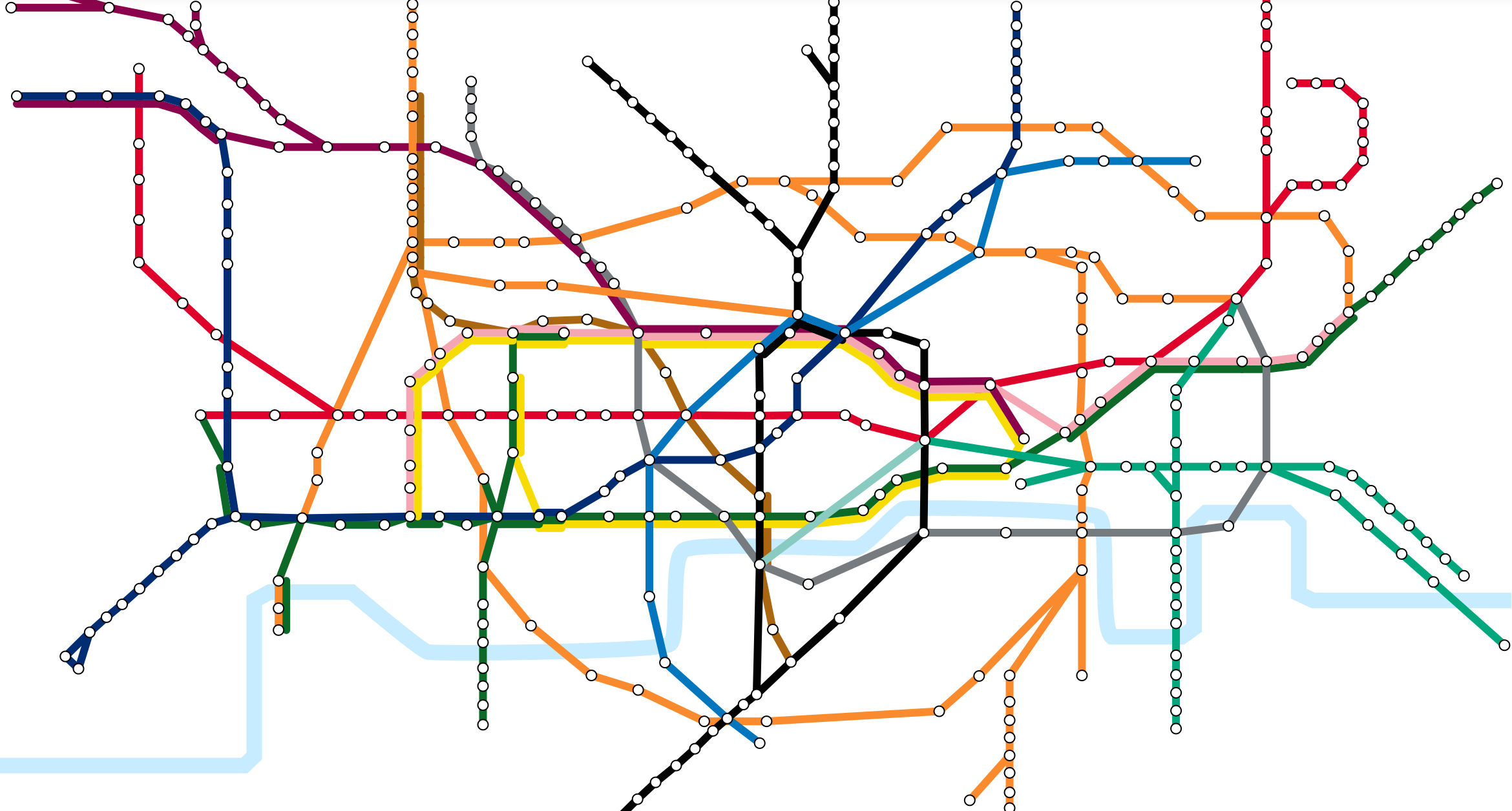 Tube Map Rents 1