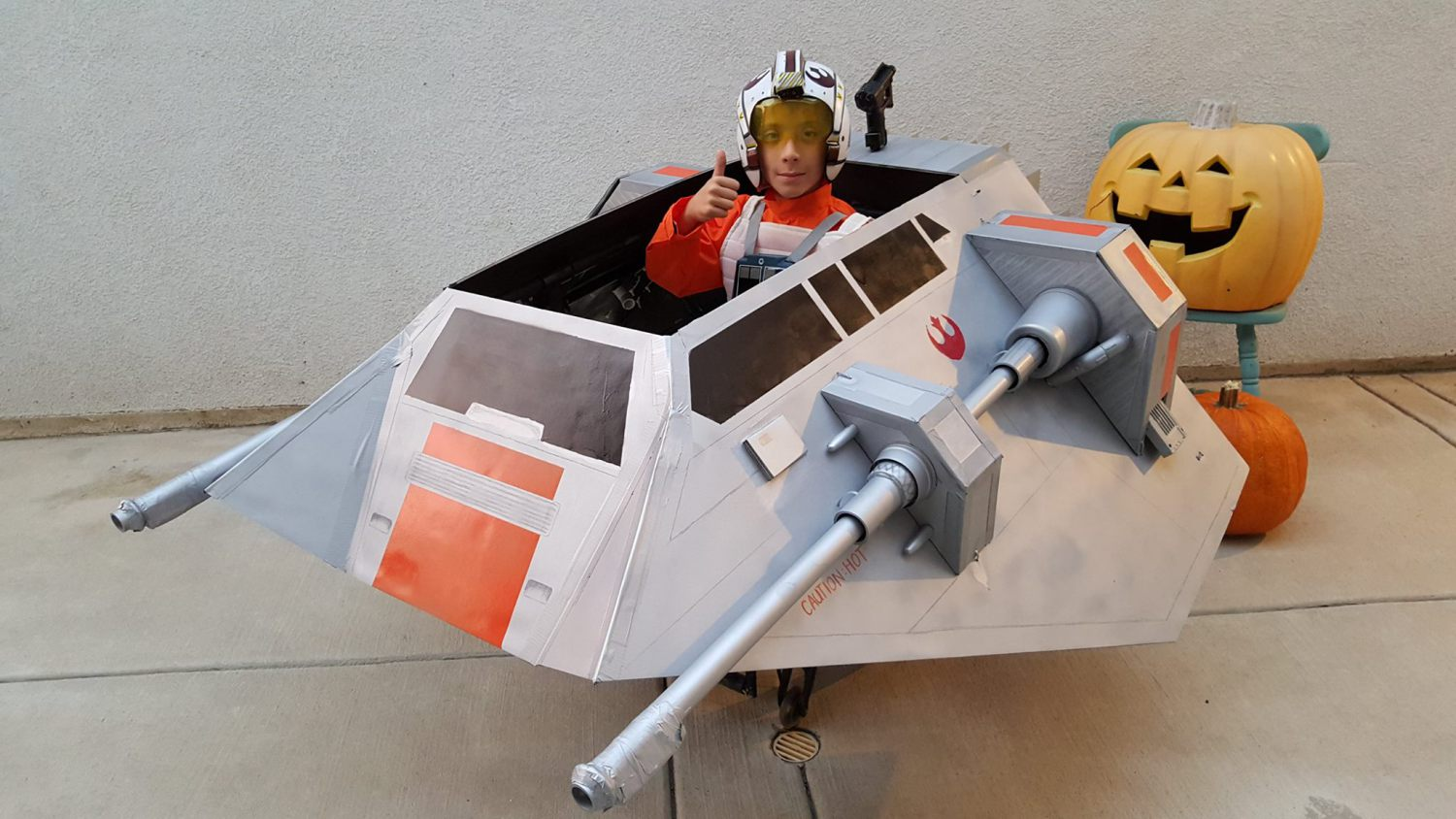 Snow Speeder Costume 1