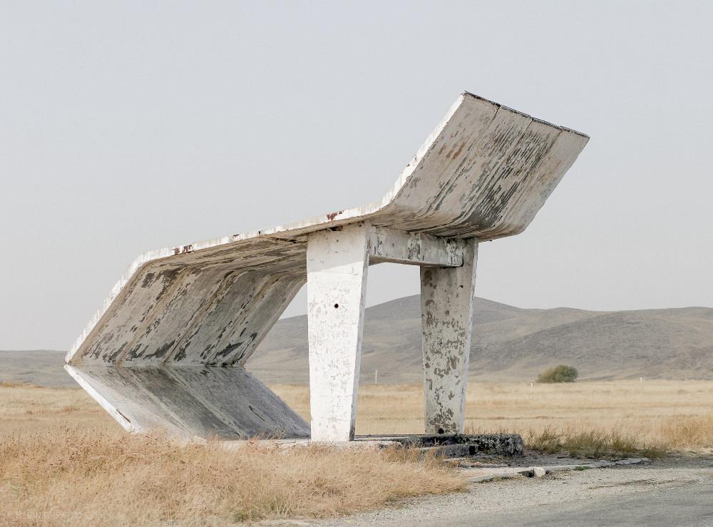 Christopher Herwig Soviet Bus Stops 1