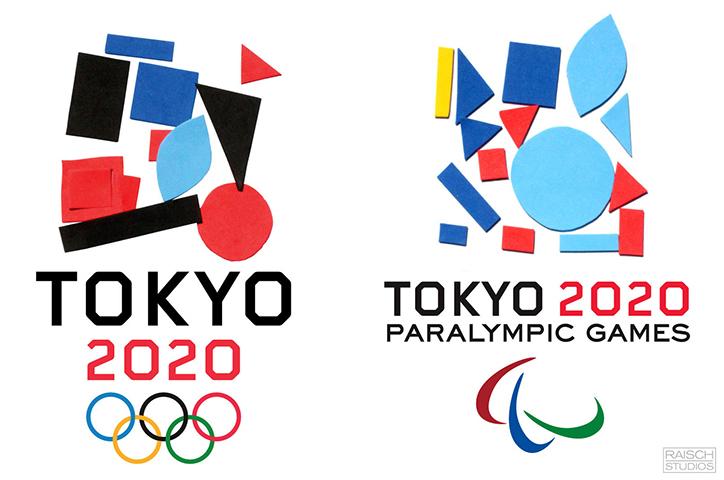 Tokyo 2020 logos designed by kids 1