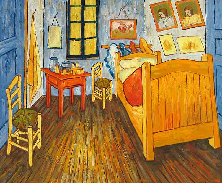 You Can Rent Vincent Van Gogh s Painting  The Bedroom  on AirBnB. The Bedroom Van Gogh Painting. Home Design Ideas