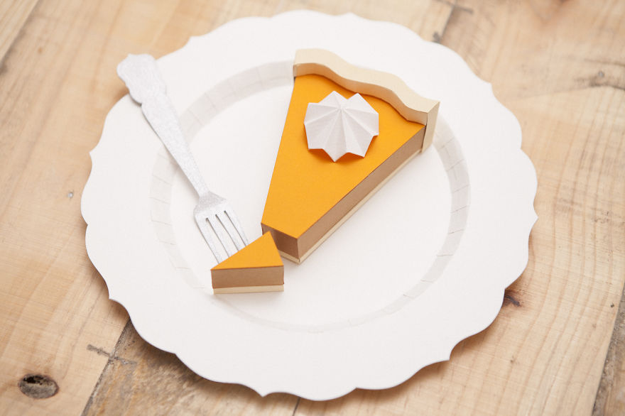 Paper Craft Food, by Raya Sader Bujana