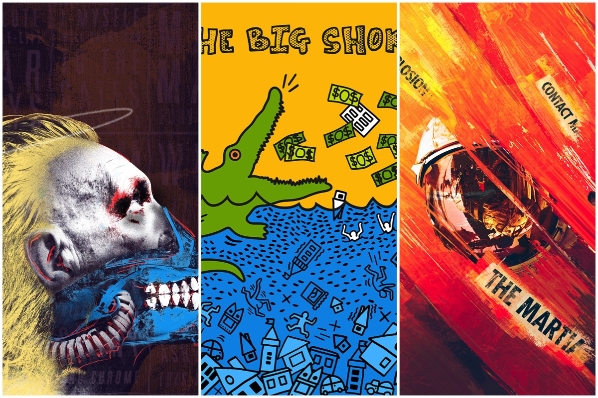 pop art oscar posters