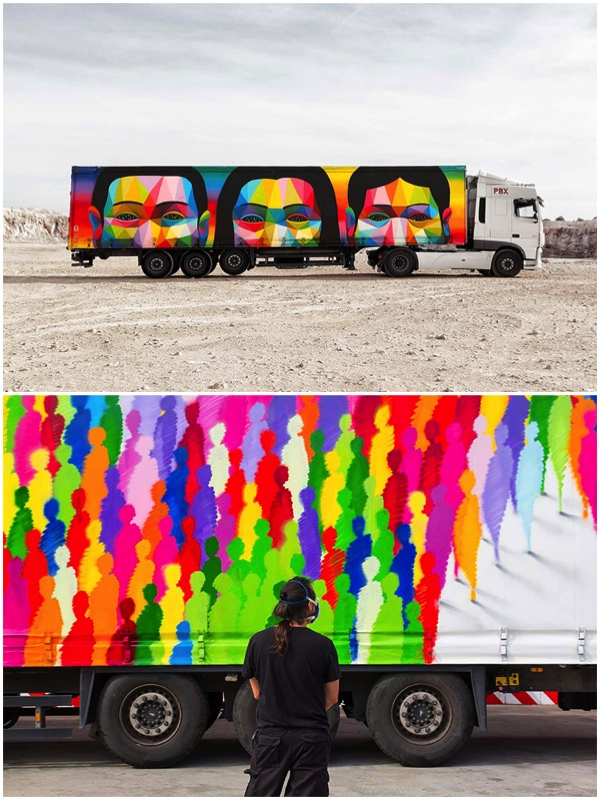 Palibex Truck Art Project featured