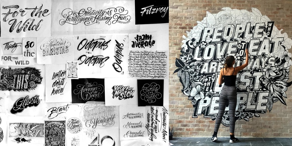A QA with Gemma OBrien The Queen of Handlettering