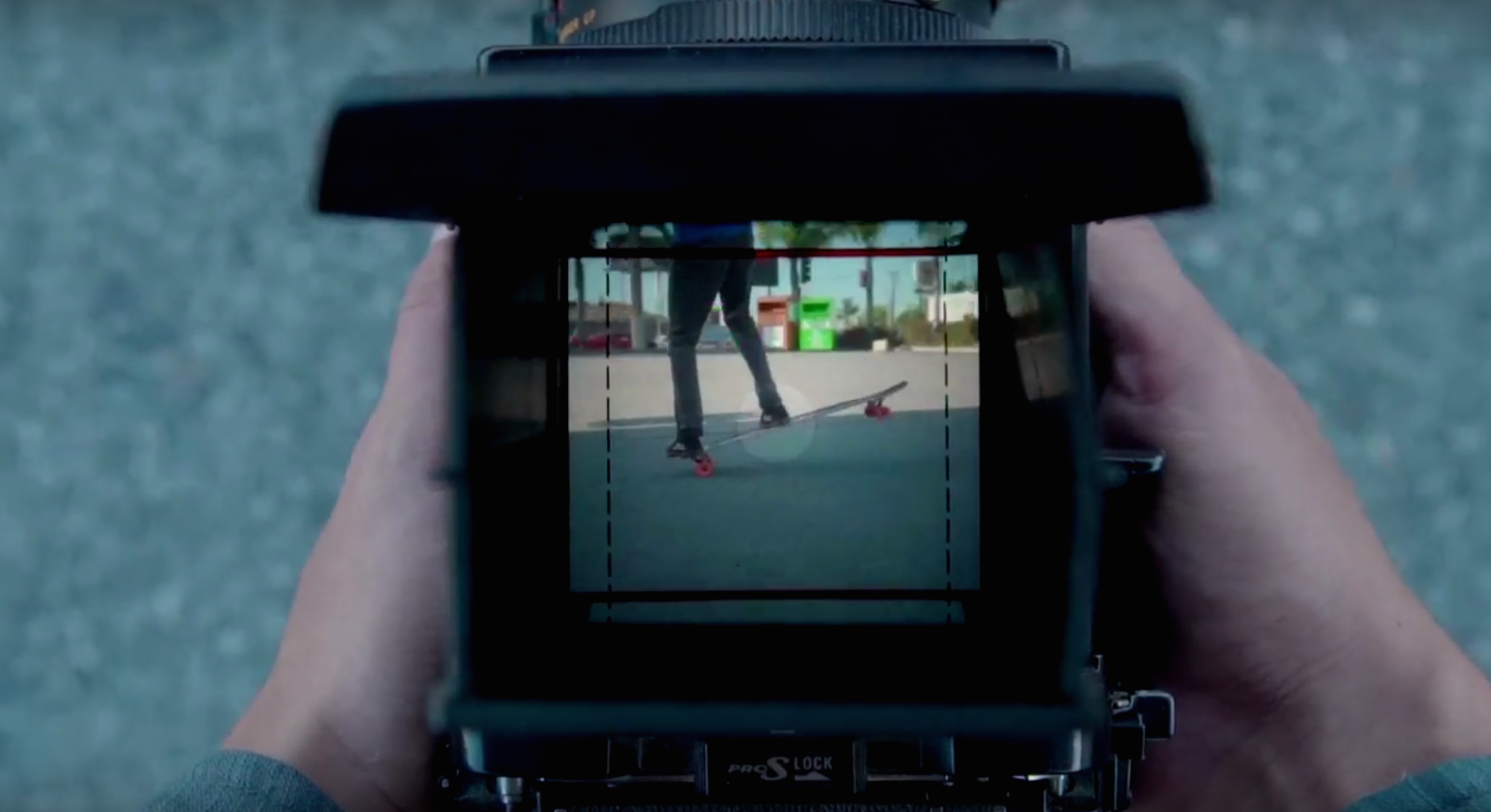 Skate Video through Mamiya camera