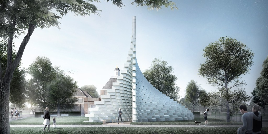 Serpentine Gallery Proposal, by Bjarke Ingels Group