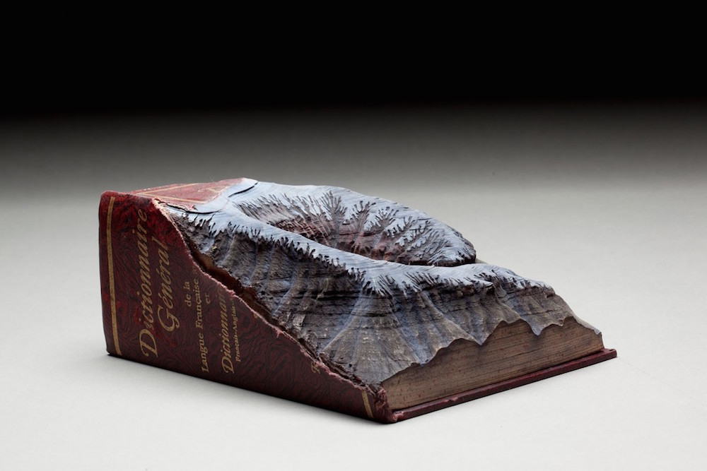 Guy Laramée carved book 1