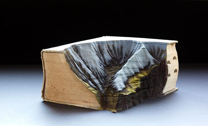 Guy Laramée carved book 5