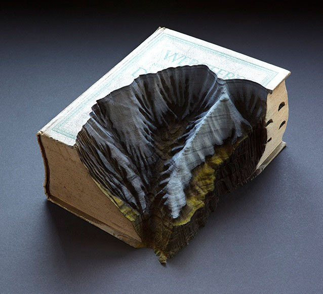 Guy Laramée carved book 6