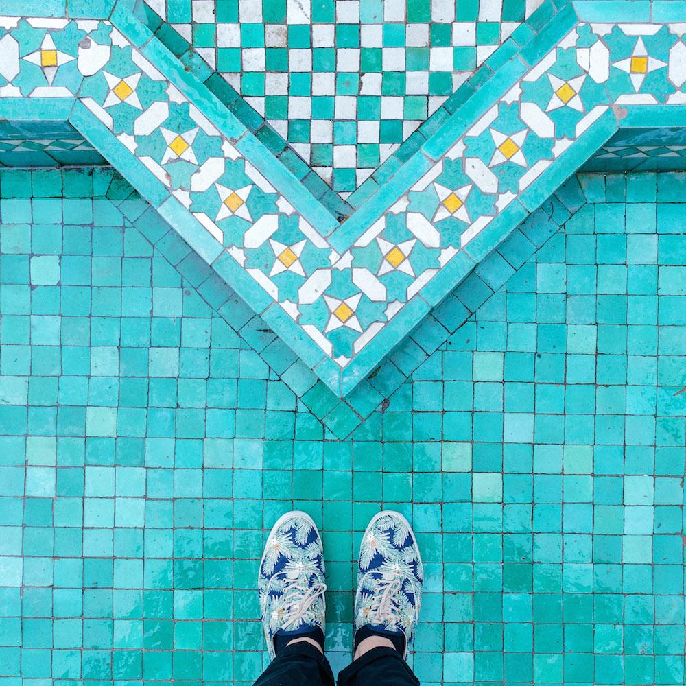 Sebastian Erras Parisian floor tiles