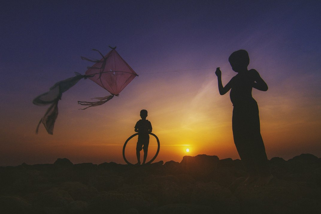 """The Wind and the Kite"" © Kumar Bishwajit, all rights reserved."
