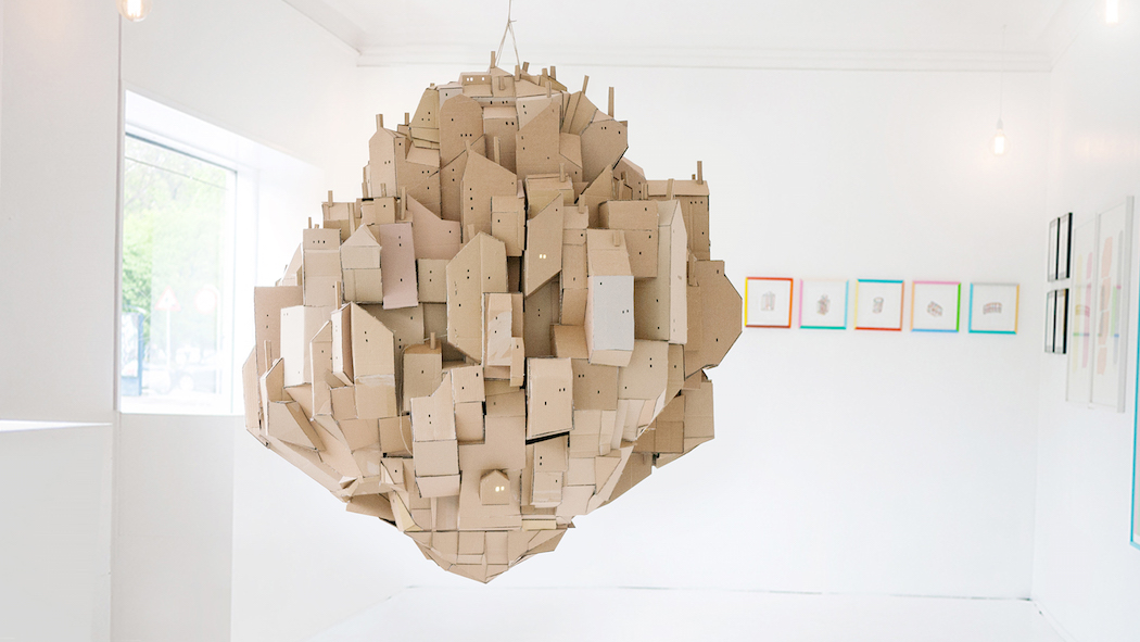 nina lindgren floating city cardboard 2